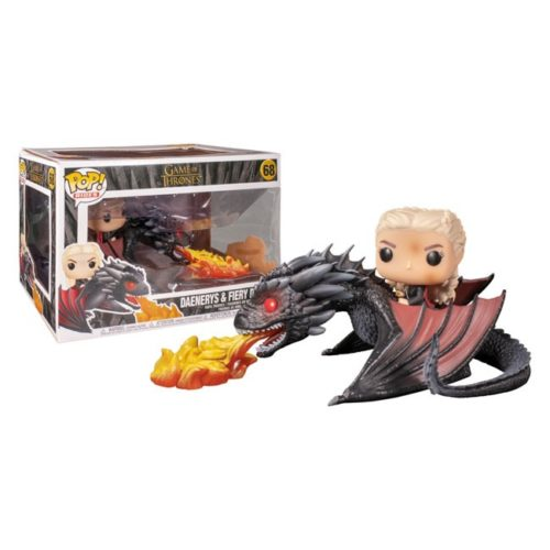 Funko Pop Daenerys and Fiery Drogon Game of Thrones 68