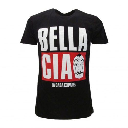 T-Shirt Bella Ciao Casa de Papel
