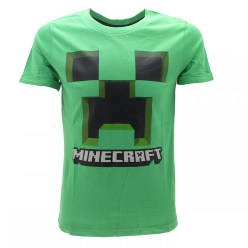 T-shirt verde Creeper Minecraft
