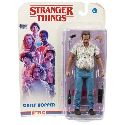 Action Figure Hopper Stranger Things Mc Ferlane Toys