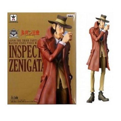 Action Figure Ispettore Zenigata Lupin Banpresto