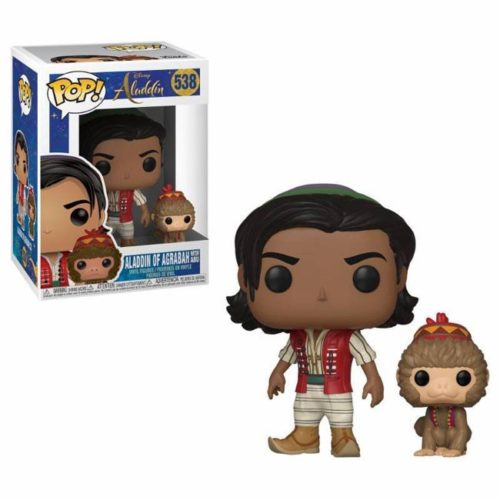 Funko Pop Aladdin of Agrabah with Abu