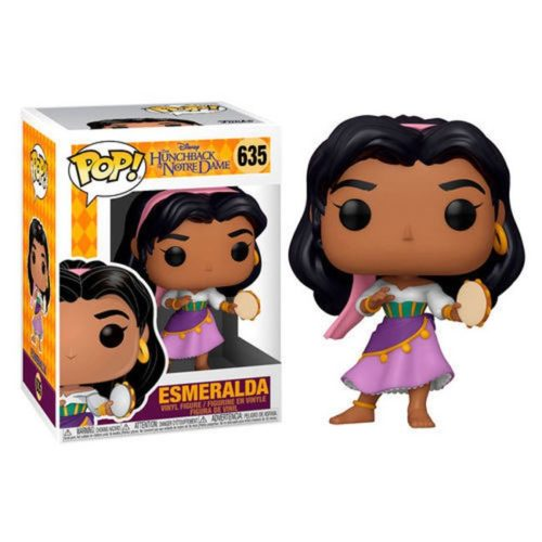 Funko Pop Esmeralda The Hunchback of Notre Dame 635