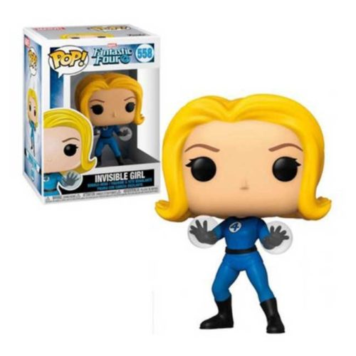 Funko Pop Invisible Girl Fantastic Four Marvel 558