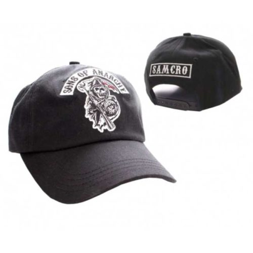 Cappello regolabile con visiera Sons of Anarchy