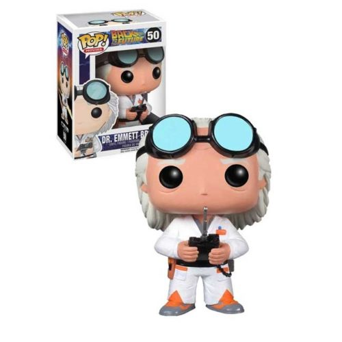 Funko Pop Doc Dr Emmet Brown Back to the Future 50
