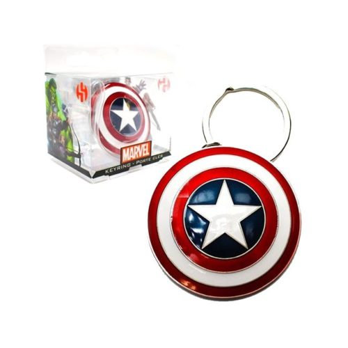 Portachiavi 3D Captain America Marvel