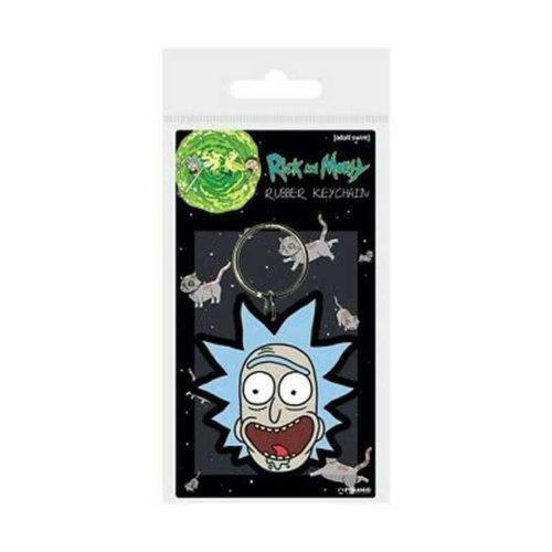 Portachiavi in gomma Rick Rick and Morty